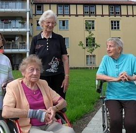 """Erfurt, Seniorenheim """"Andreashof"""""""