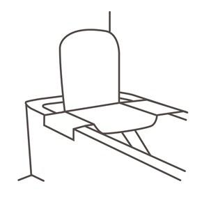 Badewanne mit Sitzlift