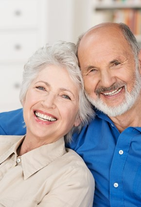 Zufriedene Senioren