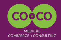 CO+CO medical commerce + consulting Logo