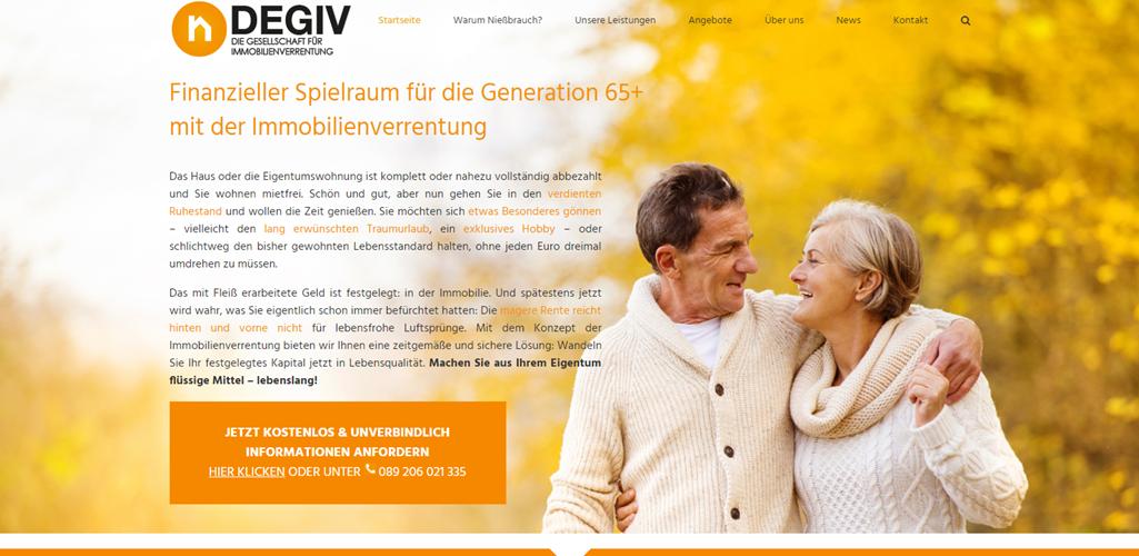 Rentner Dating-Website