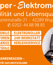 Wuppertal, Wupper-Elektromobile