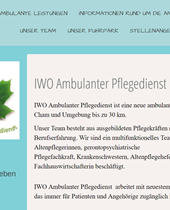 Cham, IWO Ambulanter Pflegedienst
