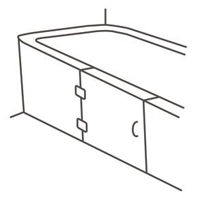 badewannent r einbauen nachr sten preisvergleich. Black Bedroom Furniture Sets. Home Design Ideas